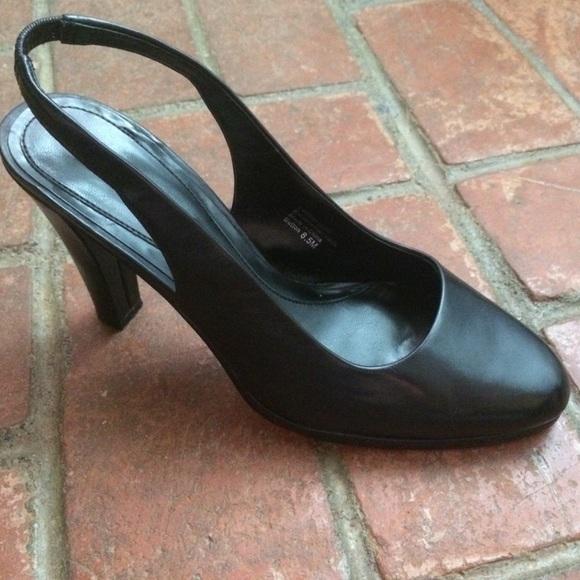 b94a182e97 Alfani Shoes | Stilettos Sutton Black Heels Size 85 | Poshmark